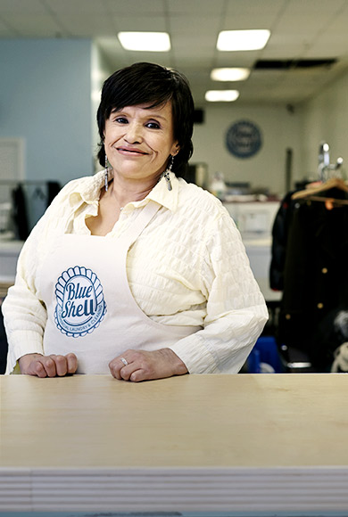 Bell, Attendant at Blue Sheel Laundry