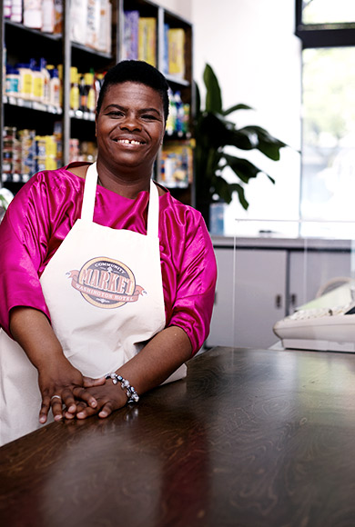 Dawn, Clerk at Washington Community Store